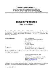 ZNALECKÝ POSUDEK číslo: 4253-399/2012
