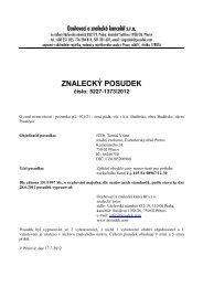 ZNALECKÝ POSUDEK číslo: 5227-1373/2012 - Sreality.cz