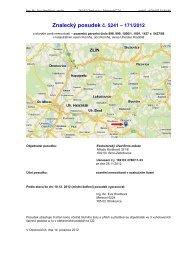 Znalecký posudek č. 5241 – 171/2012 - Sreality.cz