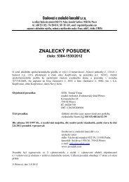 ZNALECKÝ POSUDEK číslo: 5384-1530/2012 - Sreality.cz