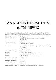 ZNALECKÝ POSUDEK č. 765-189/12 - Sreality.cz