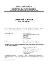 ZNALECKÝ POSUDEK číslo: 6783-455/2013 - Sreality.cz