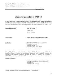 Znalecký posudek č. 17/2013 - Sreality.cz