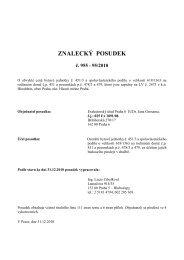 ZNALECKÝ POSUDEK č. 955 - 95/2010 - Sreality.cz