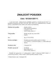 Posudek č. 181/2431/2011*I. - Sreality.cz