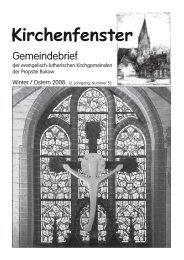 Nummer 52 Winter 2008 (PDF) ca. 2,5 MB - Kirchengemeinde ...