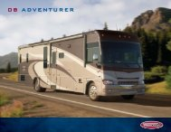 08 ADVENTURER - Winnebago