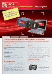 PROMON Mobile - Kamerasystem - AOS Technologies AG