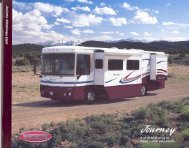 2003 Winnebago Journey Brochure