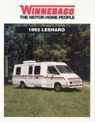 1992 LeSharo - Winnebago