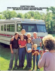 1984 Chieftain - Winnebago