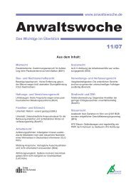 07 11anwaltswoche - Anwalt-Suchservice