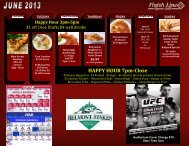 to download and view the June calendar - Finish Line Sports Grill