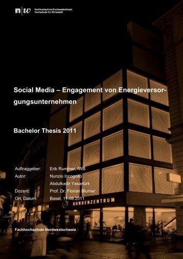 Social Media - Fachhochschule Nordwestschweiz