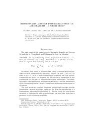 ORTHOGONALLY ADDITIVE POLYNOMIALS OVER C(K) ARE ...