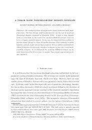 Nonparametric likelihood based estimation for a multivariate ...