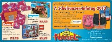 7. Schulranzen-Infotag 2013