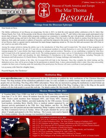 Besorah Magazines