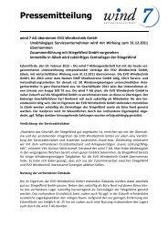 Pressemitteilung - Valora Effekten Handel AG