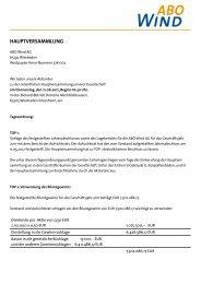Tagesordnung als PDF zum Herunterladen - ABO Wind