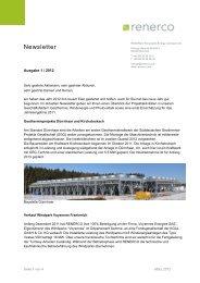 Newsletter 1/2012