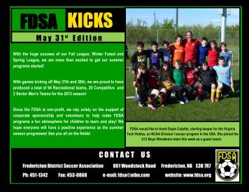FDSA KICKS – May 31st edition - fdsa.org