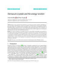 Demazure crystals and the energy function - Discrete Mathematics ...