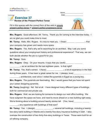 Contractions Worksheet - English for Everyone