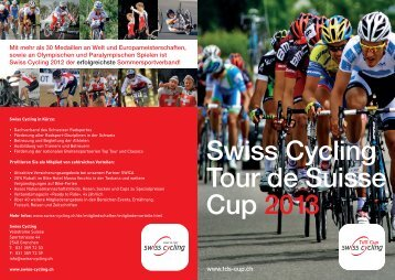 Swiss Cycling Tour de Suisse Cup 201 3