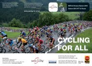 CYCLING FOR ALL - Swiss Cycling