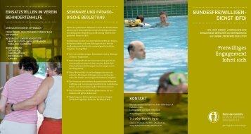 Bundesfreiwilligendienst - Behindertenhilfe Offenbach