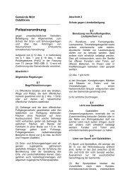 Polizeiverordnung - Hobbylauf.de