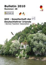 Bulletin 2010 [PDF] - GDI-Bulletin 2012