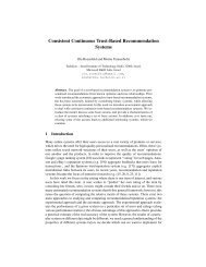 Consistent Continuous Trust-Based Recommendation Systems