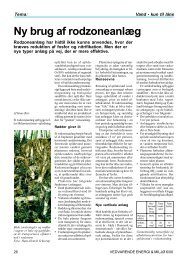 Ny brug af rodzoneanlæg - AU/BIO - Aarhus Universitet