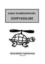 gamle examensopgaver - AU/BIO