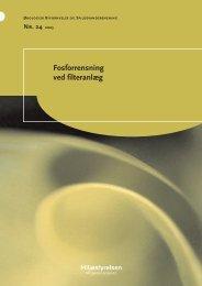 Fosforrensning ved filteranlæg - Miljøstyrelsen