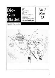 Nr. 7 Nov. 03 - AU/BIO