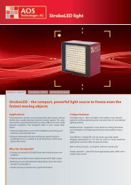 StroboLED light - AOS Technologies AG