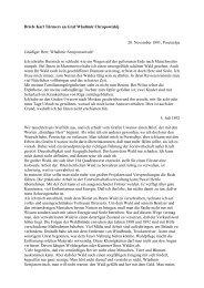 Briefe Karl Türmers an Graf Wladimir Chrapowizkij - Erlangen ...