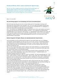 2013-06-13 Jetzt wächst die Spannung - Kinderbüro an der ...