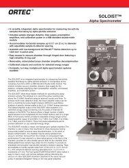 SOLOIST™ Alpha Spectrometer