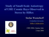 Study of Small-Scale Anisotropy of Ultrahigh Energy Cosmic Rays ...
