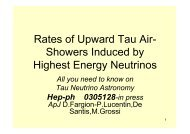 Tau Neutrino Astronomy: Rates, Signatures and Detection Strategy