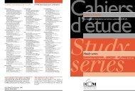 Cahiers d'étude Study series - ICOM Home