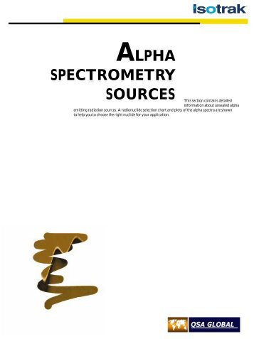 ALPHA SPECTROMETRY SOURCES - High Technology Sources Ltd
