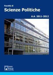 Scienze Politiche - Servizio di hosting