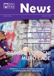 n. 3/2009 - Servizio di hosting - Università degli Studi Roma Tre