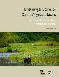 Ensuring a Future for Canada's Grizzly Bears (PDF - David Suzuki ...