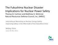 The Fukushima Nuclear Disaster The Fukushima Nuclear Disaster ...